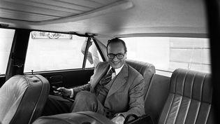 Jacques Chirac, le 20 avril 1976 à Paris. (AFP)