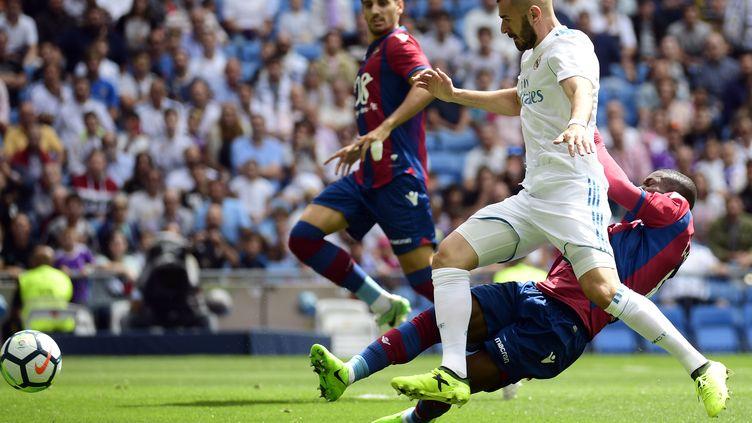 Karim Benzema (Real Madrid) (PIERRE-PHILIPPE MARCOU / AFP)