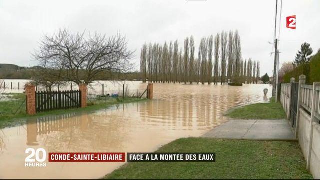 Inondations en Seine-et-Marne : Condé-Sainte-Libiaire face à la montée des eaux