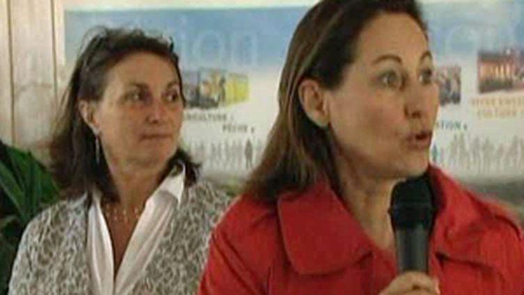 La présidente de Poitou-Charentes demande suspension du zonage et concertation pour les sinistrés de la tempête Xynthia (France 2)