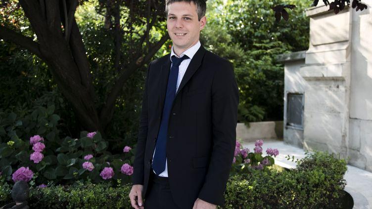 Loïc Kervran, à l'Assemblée nationale, le 21 juin 2017. (VINCENT ISORE / MAXPPP)