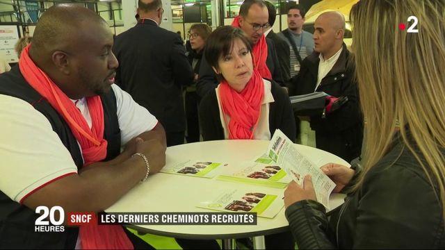 SNCF : les derniers cheminots recrutés