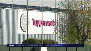 Le site Tupperware de Joué-lès-Tours va fermer en 2018. (FRANCE 3)