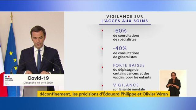 Olivier Véran met en garde contre le défaut de soins en période de coronavirus