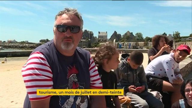 Tourisme : un mois de juillet mitigé en France