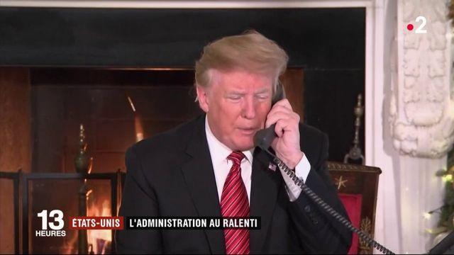 États-Unis : l'administration est au ralenti