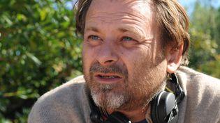 """Le réalisateur Christophe Ruggia sur le tournage de """"La Tourmente"""" en 2010. (SERGE GUEROULT / MAXPPP)"""