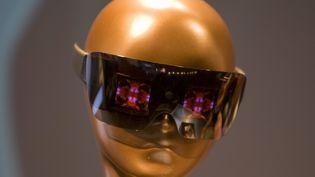 Les lunettes conçues par Lady Gaga et Polaroid, présentées au CES, le 6 janvier 2011, à Las Vegas (Etats-Unis). (STEVE MARCUS / REUTERS)