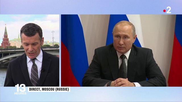 International : Emmanuel Macron reçoit Vladimir Poutine