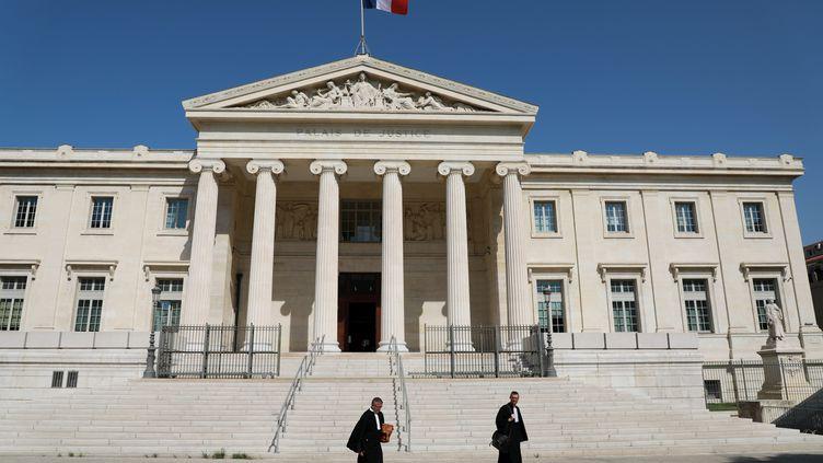 Le palais de justice de Marseille. (MAXPPP)