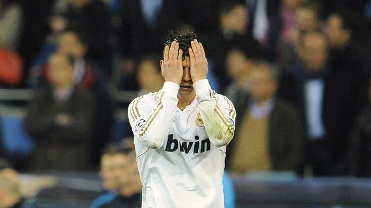 La déception de Cristiano Ronaldo (Real Madrid)