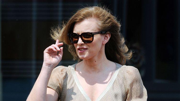 Valérie Trierweiler à Chicago (Etats-Unis), le 20 mai 2012. (OLIVIER DOULIERY / AFP)