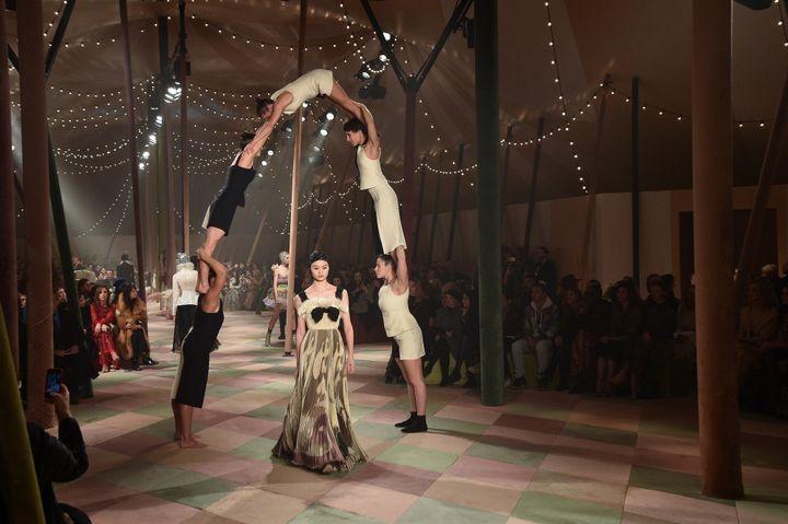 Dior haute couture printemps-été 2019, à Paris, janvier 2019.  (Getty Images)