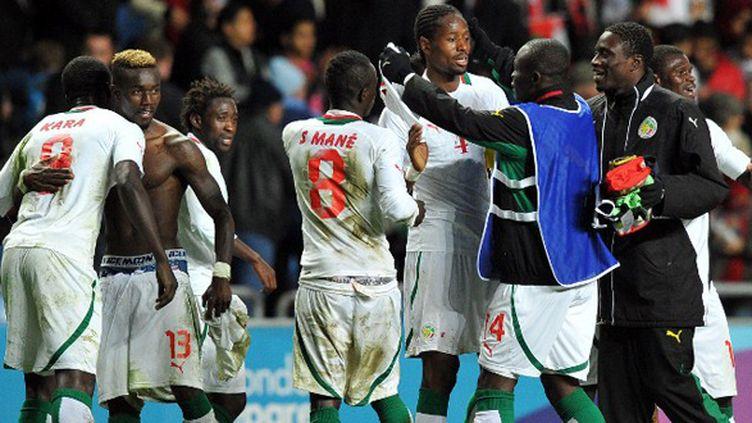 Le bonheur des Sénégalais, lors de leur qualification pour les JO de Londres