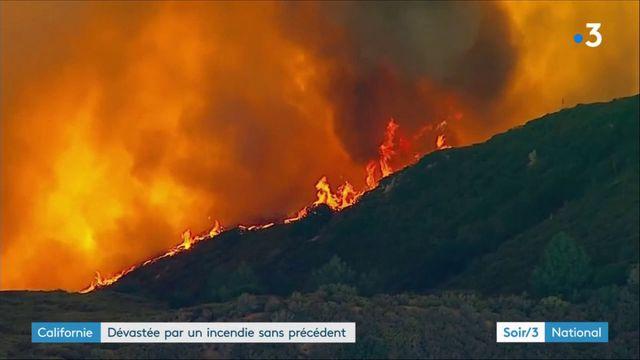 La Californie dévastée par un incendie sans précédent