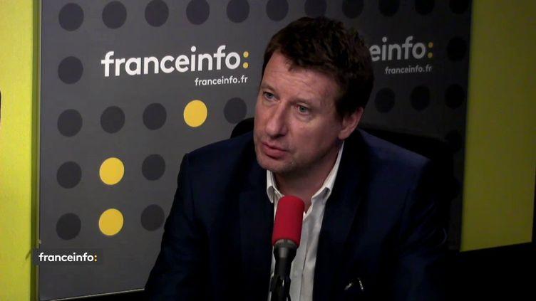Ledéputé européenEurope Écologie-Les Verts (EELV) Yannick Jadot était l'invité de franceinfo mercredi 25 avril. (FRANCEINFO)