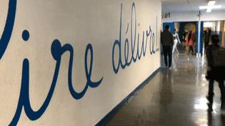 Les couloirs du collège Diderot résonnent des chansons de France Gall  (France 3 / Culturebox)