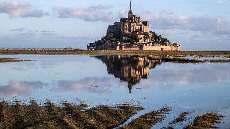 Le Mont-Saint-Michel en septembre 2019. (JOEL SAGET / AFP)