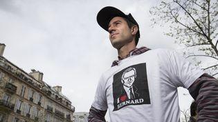 """François Ruffin, réalisateur du documentaire """"Merci patron !""""  (JOEL SAGET / AFP)"""