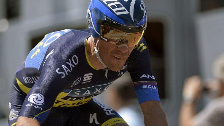 Alberto Contador (Saxo Tinkoff) (JEFF PACHOUD / AFP)