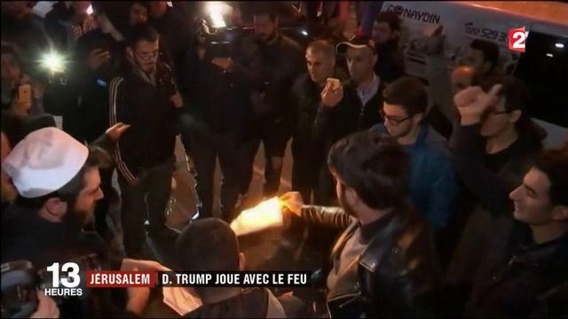 Jérusalem : la décision de Trump inquiète la communauté internationale