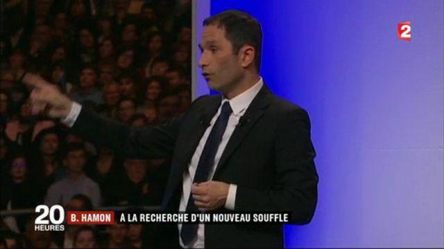 Présidentielle : Benoît Hamon, à la recherche d'un nouveau souffle