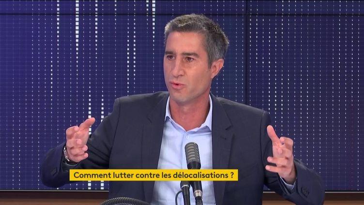 François Ruffin, le 23 septembre 2020. (FRANCEINFO / RADIOFRANCE)