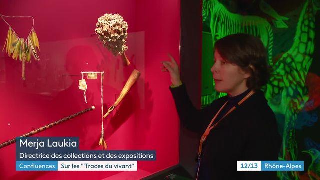 """Exposition """"Traces du vivant"""" au musée des Confluences"""