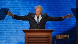 Clint Eastwood à la convention républicaine de Tampa (30 août 2012)  (Stan Honda)