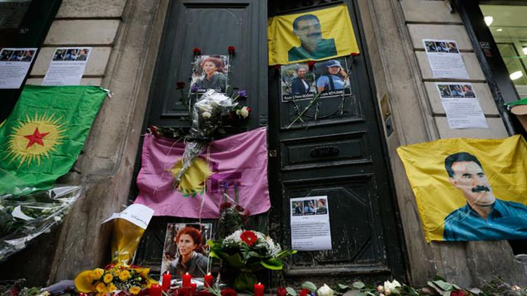 (L'assassinat en plein Paris de trois militantes kurdes avait choqué la communauté kurde en France © MAXPPP)