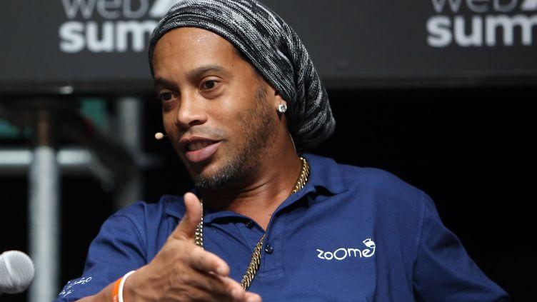L'ancien champion du monde brésilien Ronaldinho. (PEDRO FIUZA / NURPHOTO)