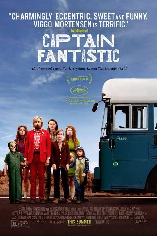 L'affiche de Captain Fantastic  (DR)