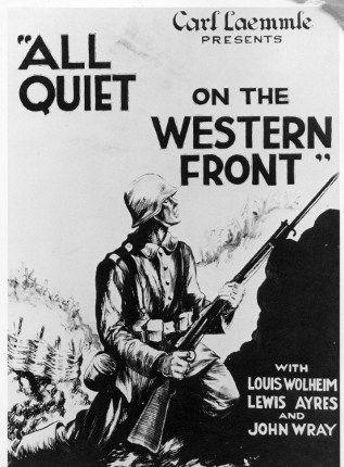 L'affiche du film All Quiet On The Western Front, de Lewis Milestone (1930) (AFP - The Picture Desk - Kobal)
