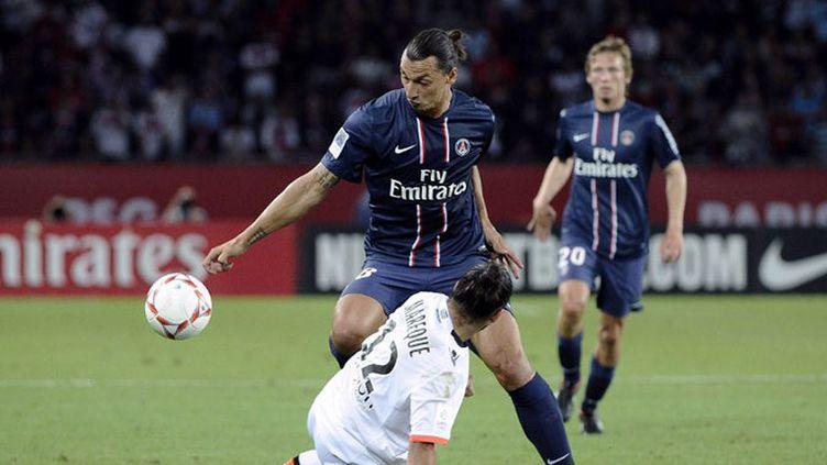 Doublé d'Ibrahimovic pour Paris face à Lorient