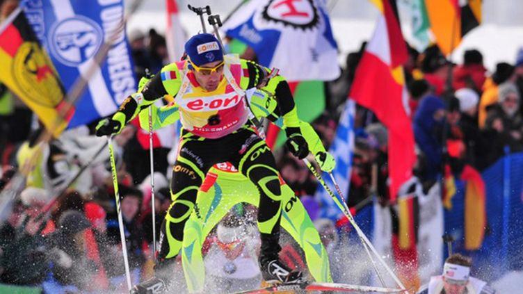 Martin Fourcade a été le dernier relayeur de la victoire française à Antholz-Anterselva