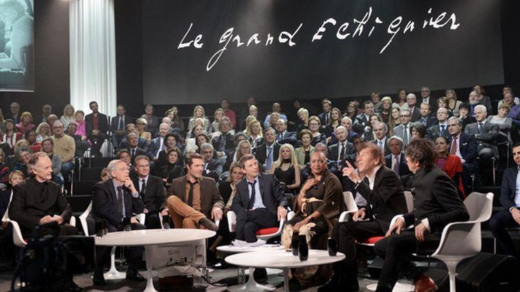 """""""Le Grand Echiquier"""", présenté par Frédéric Taddéï sur France 2  (Groupe France Télévisions France2)"""