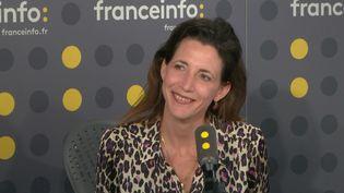 """La co-rédactrice en chef de l'Emission politique, Alix Bouilhaguet, dénonce une décision de justice qui """"porte gravement atteinte à la liberté de la presse"""". (FRANCEINFO / RADIOFRANCE)"""
