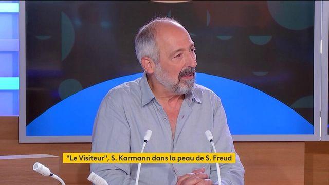 "Théâtre : ""Le Visiteur"", Sam Karmann incarne Sigmund Freud"