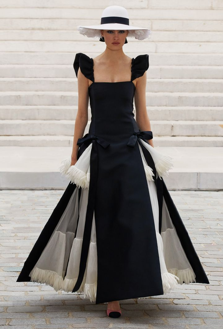 Chanel haute couture fall-winter 2021-22 in Paris, July 6, 2021 (Courtesy of Chanel)