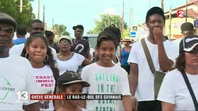 Grève générale : le ras-le-bol des Guyanais