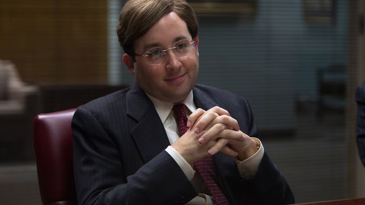 """Nicky Koskoff, personnage du """"Loup de Wall Street"""", est un banquier, portant une moumoute. (KOBAL / AFP )"""