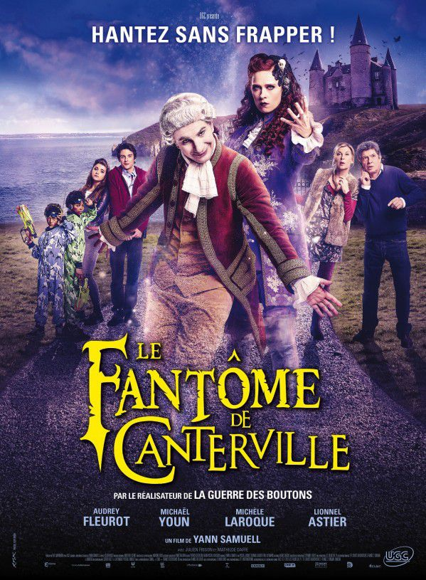 """Affiche du film """"Le fantôme de Canterville""""  (""""Le fantôme de Canterville"""" réalisé par Yann Samuell)"""