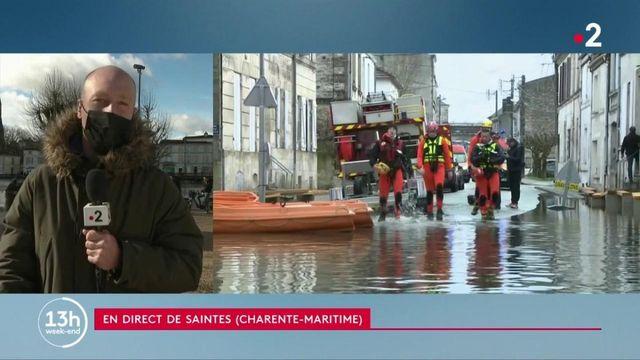 Inondations en Charente-Maritime : le pic de crue bientôt atteint à Saintes