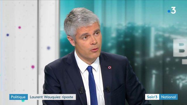 Laurent Wauquiez s'explique et assume, et va porte plainte