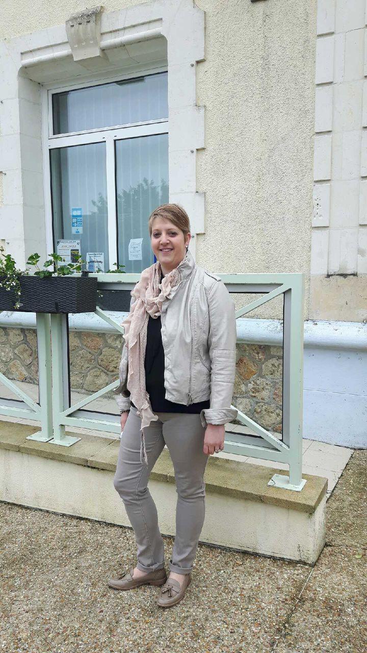 Hélène, électrice FN dans la Sarthe. (JÉRÔME JADOT / FRANCEINFO)