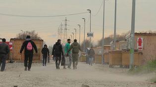 """Le camp de migrants de Grande-Synthe (Nord). (""""GRANDE-SYNTHE"""" / J+B SEQUENCES)"""