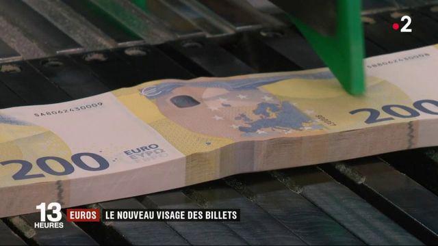 Euros : les billets font peau neuve