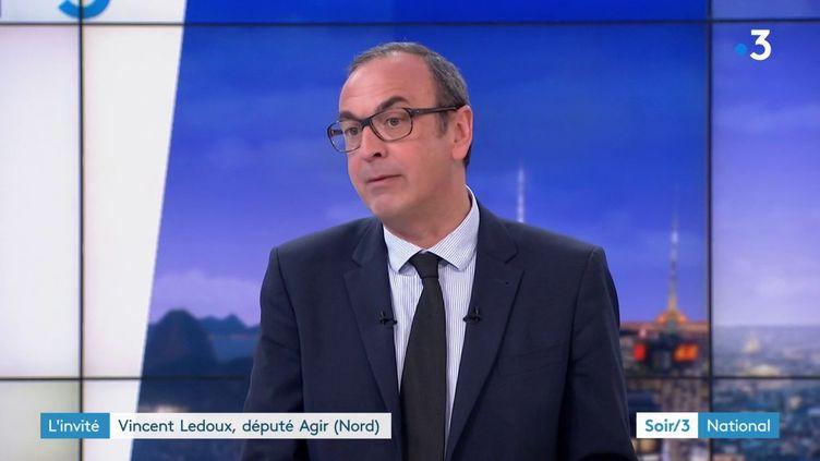 Vincent Ledoux, député Agir du Nord (France 3)