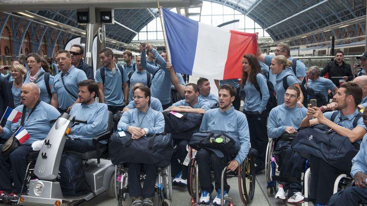 La délégation française pour les Jeux Paralympiques de Londres (RAY TANG / REX FEATURES/REX/SIPA / REX)