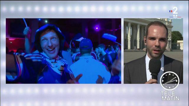 Dernière nuit de Coupe du monde en Russie pour les Bleus et les supporters
